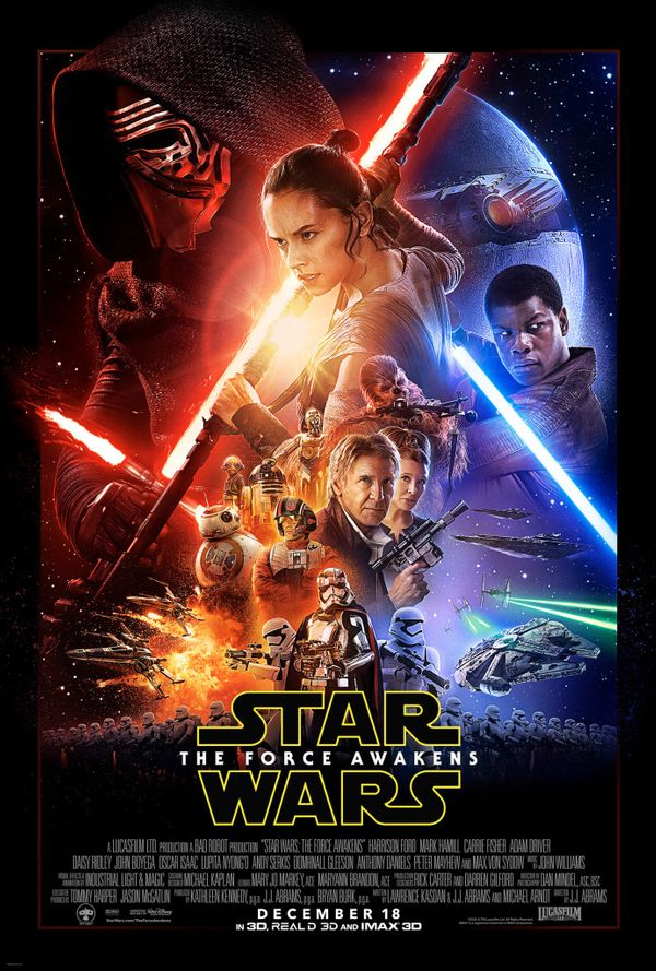 Star Wars: The Force Awakens (spoiler alert)